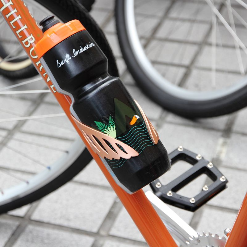 Silver Portland Design Works Sparrow Cage Water Bottle Cage