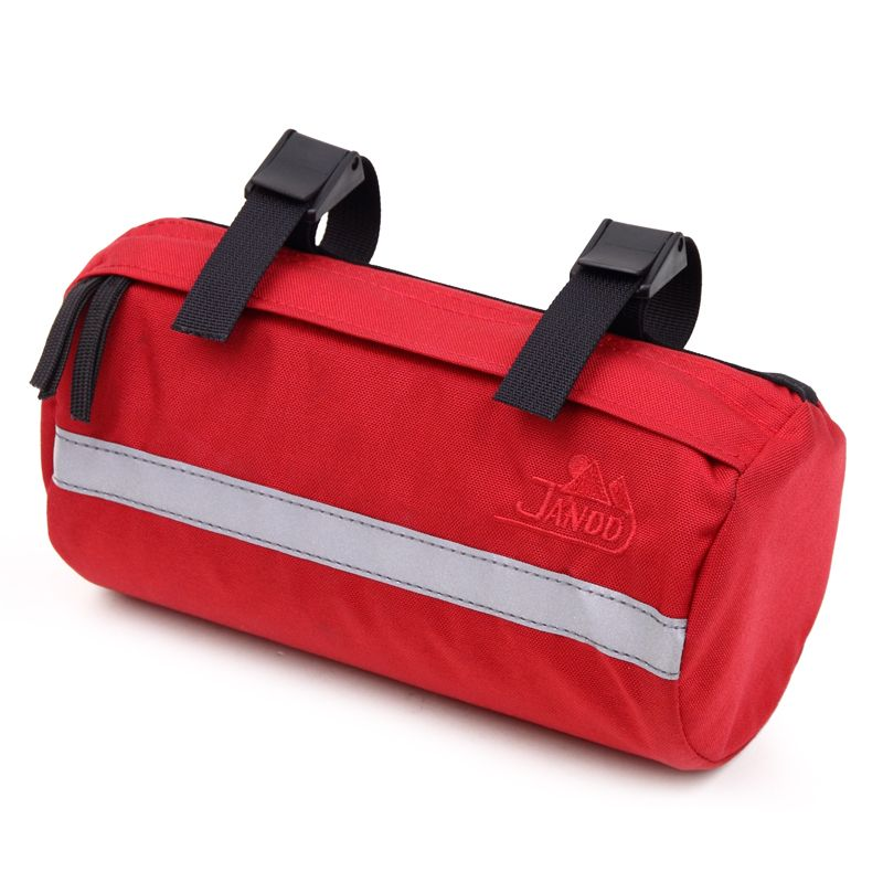 Cycling Two Jandd Stem Bags Bicycle