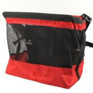 *JANDD* grocery bag pannier (red)