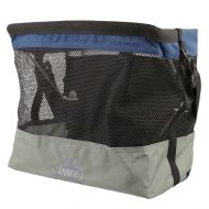 *JANDD* grocery bag pannier (gray/blue)