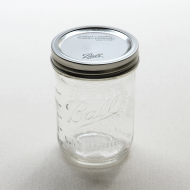 *BALL* mason jar wide mouth (claer)