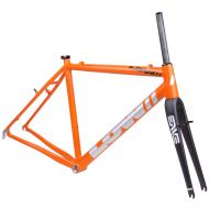 *LOW BICYCLES* MKi cross frame&fork set (orange/raw)