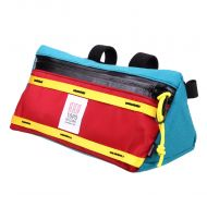 *TOPO DESIGNS* bike bag (red/turquoise)