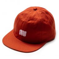 *TOPO DESIGNS* mini map hat (rust)