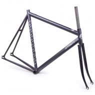 *AFFINITY CYCLES* lo pro track frame (film grain black)