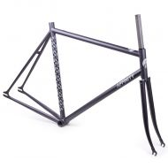 *AFFINITY CYCLES* metropolitan track frame (film grain black)