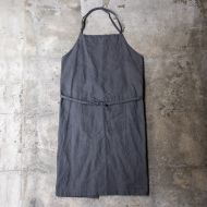 *BLUE LUG* lug apron (wax gray)