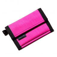 *BLUE LUG* micro wallet (flash pink)
