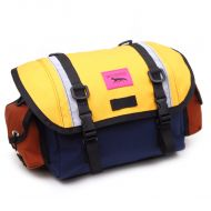 *SWIFT INDUSTRIES* zeitgeist saddle bag (S/navy/saffron/rust)