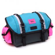 *SWIFT INDUSTRIES* zeitgeist saddle bag (S/steel/teal/hot pink)