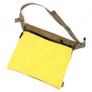 *YANCO* zip musette (x-pac yellow/coyote)