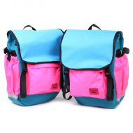 *SWIFT INDUSTRIES* roll top (teal/turquoise/hot pink)