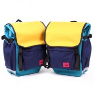 *SWIFT INDUSTRIES* roll top (teal/saffron/navy)