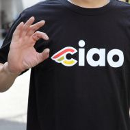 *CINELLI* ciao t-shirt (black)
