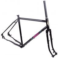 *CRUST BIKES* evasion frame (dark purple)