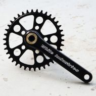 *WHITE INDUSTRIES* MR30 crank set (black)