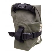 *OUTER SHELL ADVENTURE* rolltop saddlebag (olive drab)