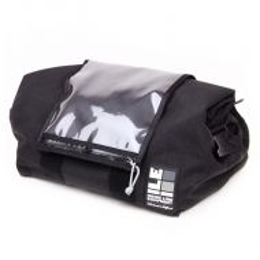 *ILE* porteur rack bag (black/map pocket)