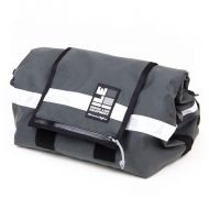 *ILE* porteur rack bag (dark grey/reflective)