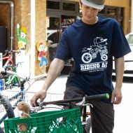 *BLUE LUG* riding ace t-shirt (navy)
