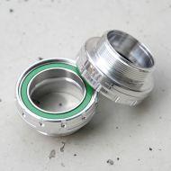 *WHITE INDUSTRIES* BSA bottom brackets (silver)