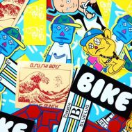 *BLUE LUG* sticker pack