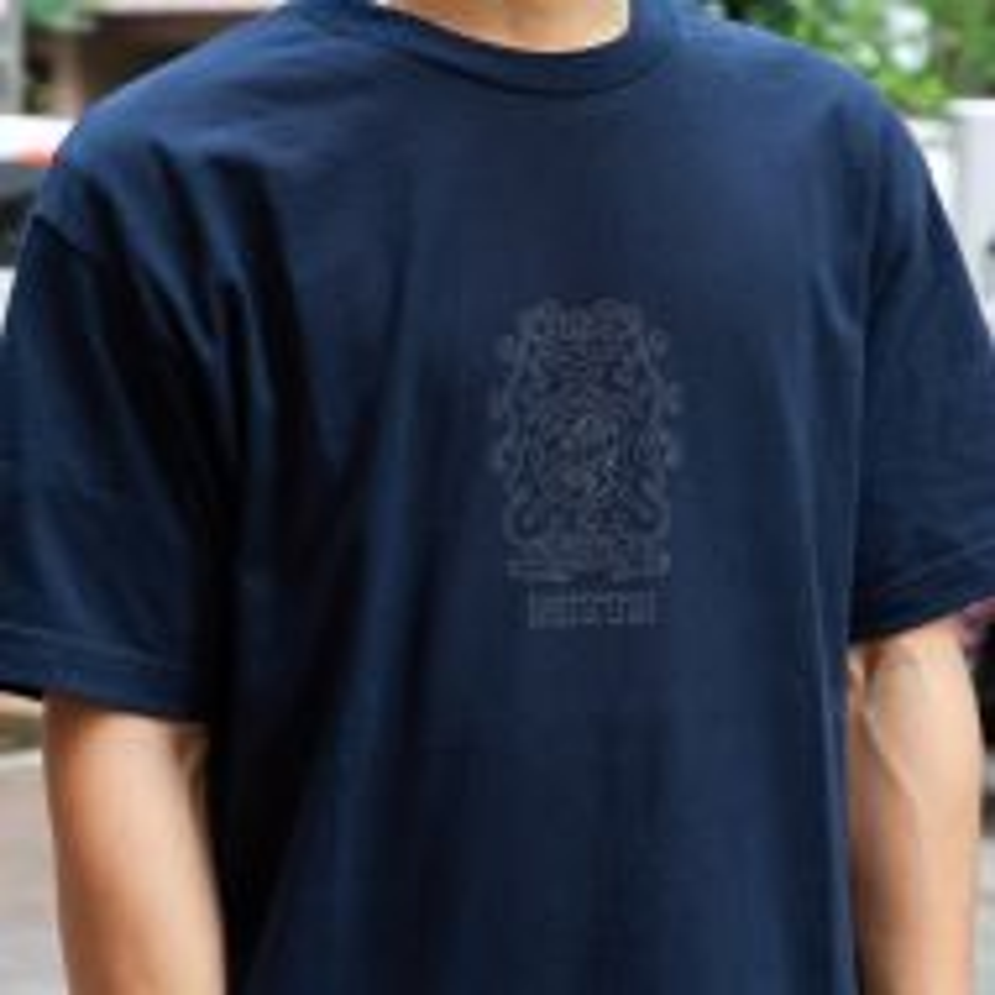 *NITTO* emblem t-shirt (navy)