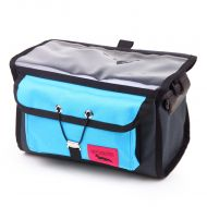 *SWIFT INDUSTRIES* paloma handlebar bag (turquoise/steel)