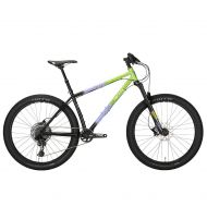 *ALL CITY* electric queen 27.5 complete bike (blue lime splatter)