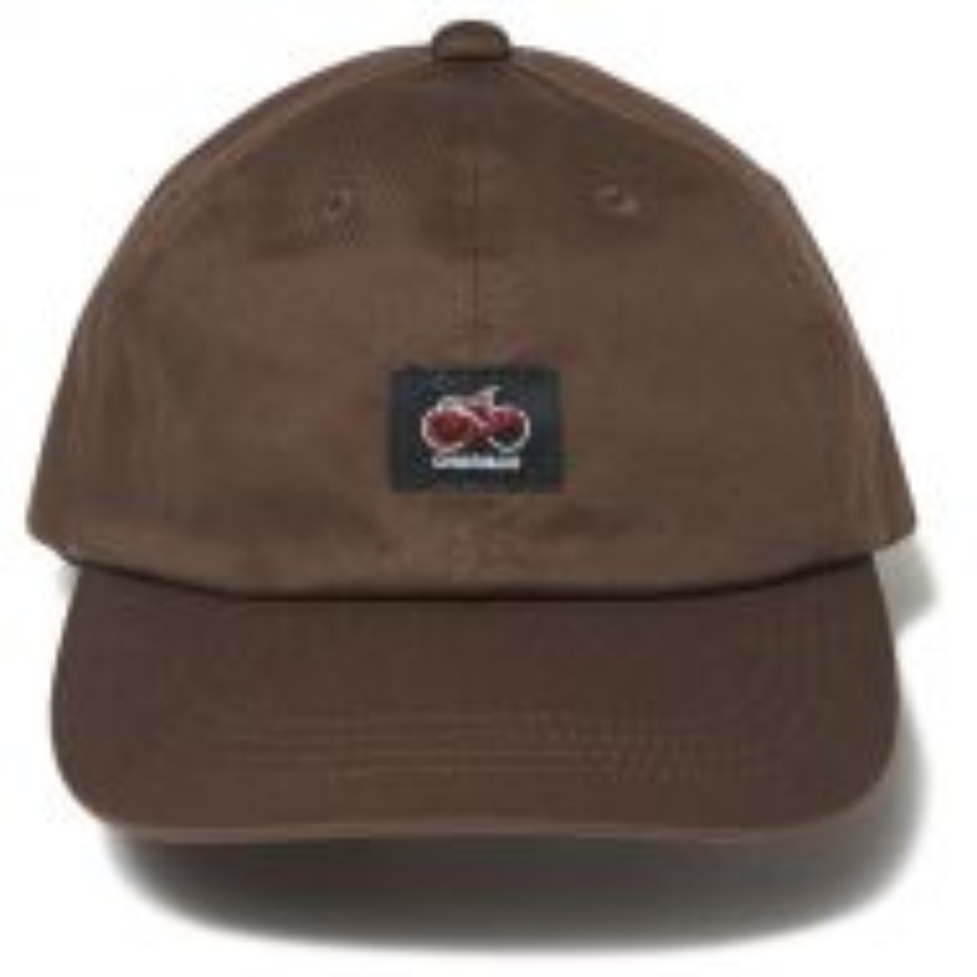 *CHARI&CO* cycle logo polo cap (brown)
