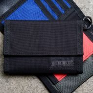 *BLUE LUG* bike wallet (black/multi)