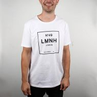 *LOOK MUM NO HANDS* No.49 LMNH t-shit (white)