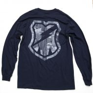 *MASH* death cities long sleeve t-shirt (navy)
