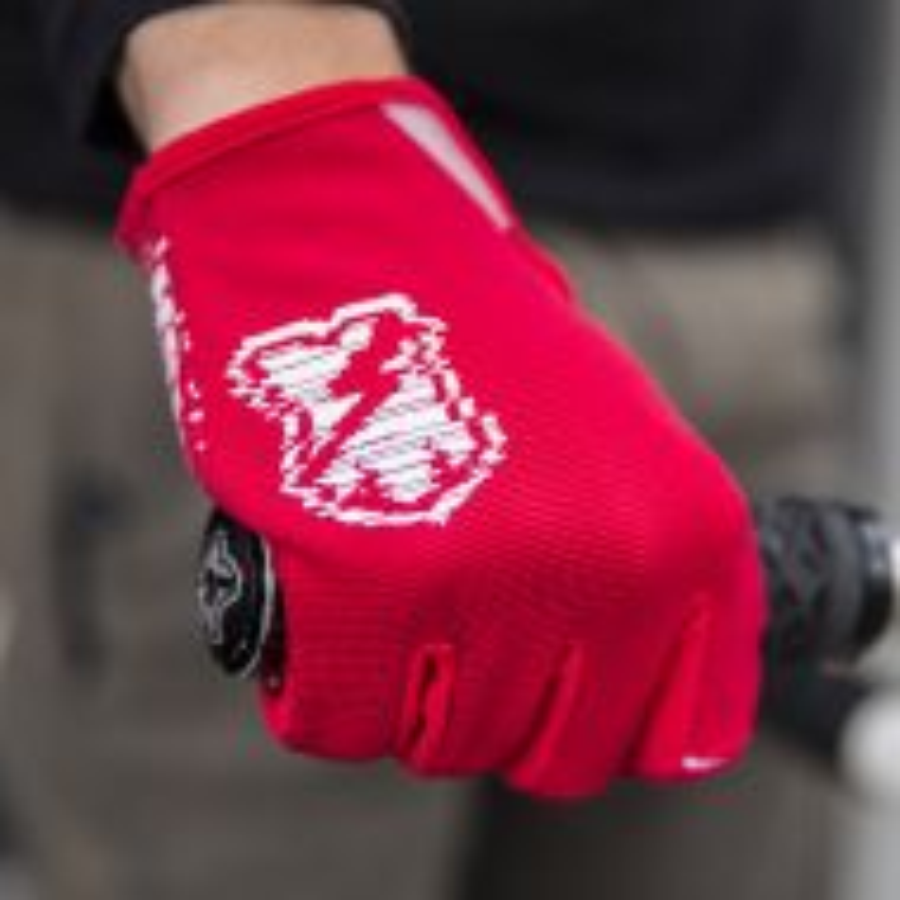 *MASH* DND glove (glith red)