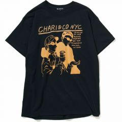 *CHARI&CO* noise punk tee (black)