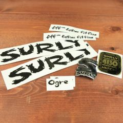 *SURLY* ogre frame decal set (black)