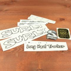 *SURLY* long haul trucker frame decal set (white)