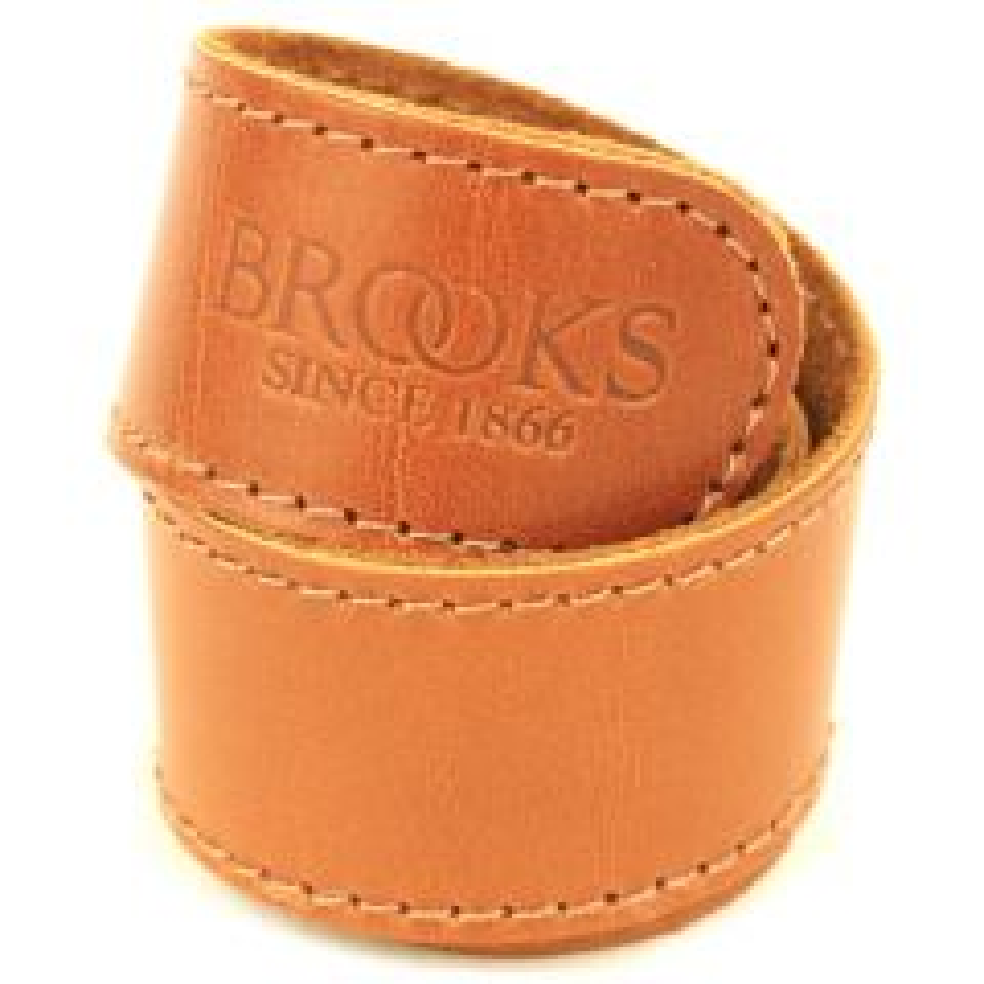 *BROOKS* leather trouser strap (honey)