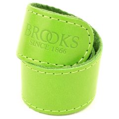 *BROOKS* leather trouser strap (apple green)