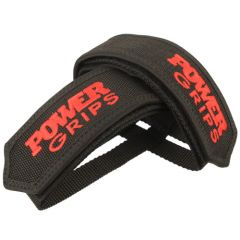 *POWER GRIPS* fat straps (red)