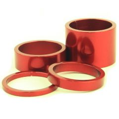 *CHRIS KING* headset spacers (red)