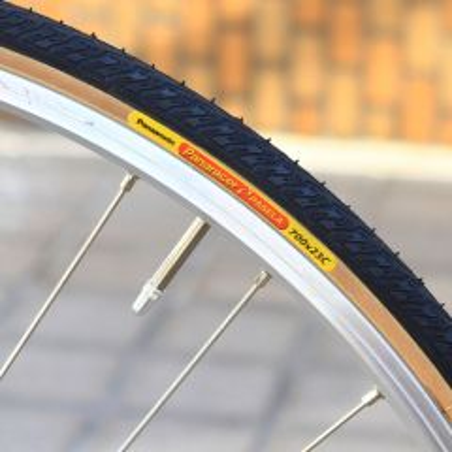 *PANARACER* pasela tire (black/skin)