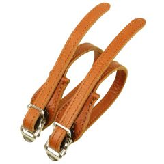 *VELO ORANGE* leather toe strap (honey)
