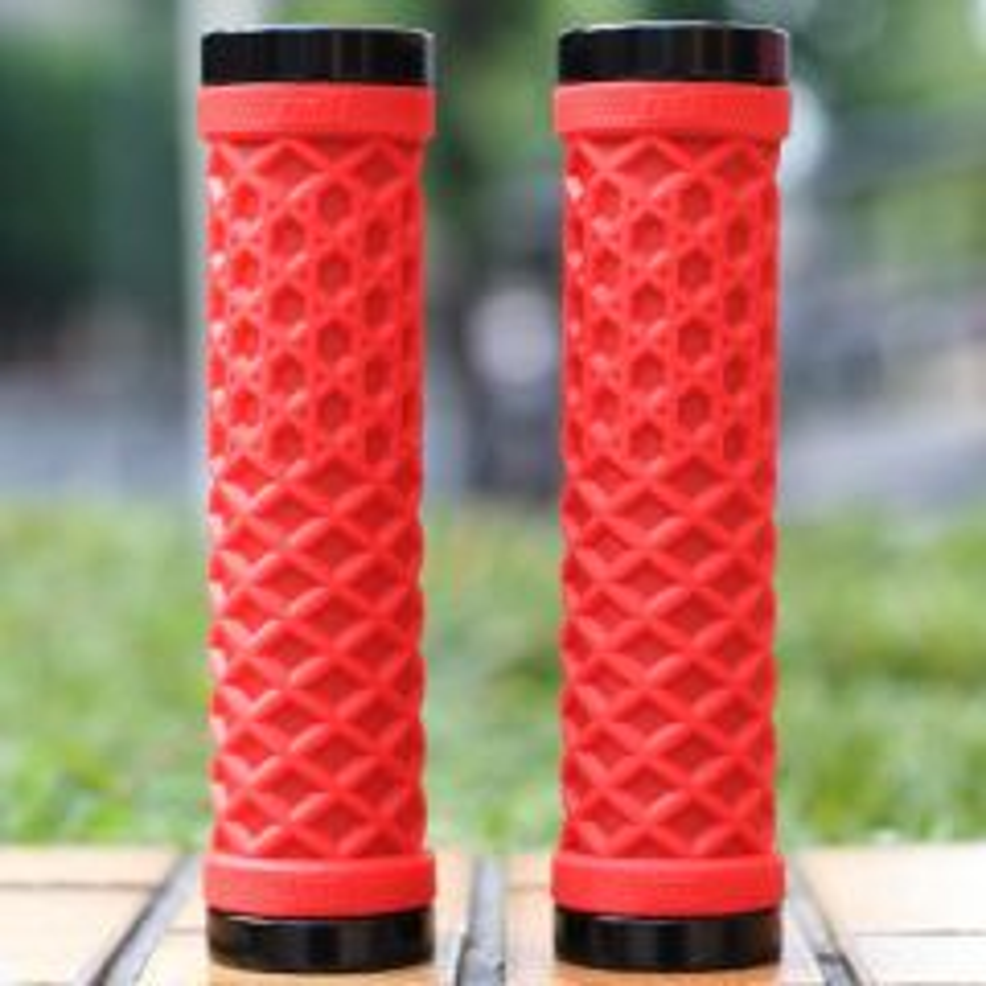 *ODI* vans waffle lock-on grip (red)