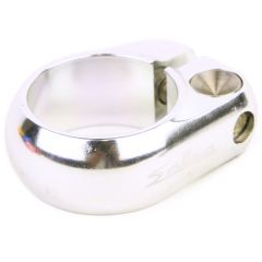 *SALSA CYCLES* lip-lock clamp (silver)