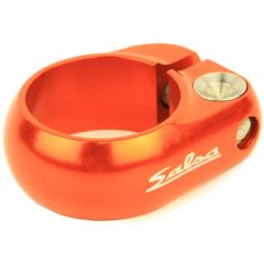 *SALSA CYCLES* lip-lock clamp (orange)