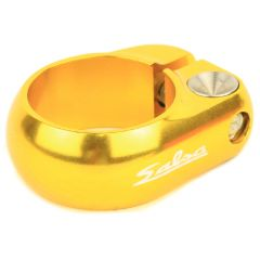*SALSA CYCLES* lip-lock clamp (gold)