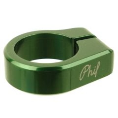 *PHILWOOD* seat post collar (green)