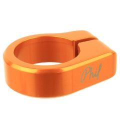 *PHILWOOD* seat post collar (orange)