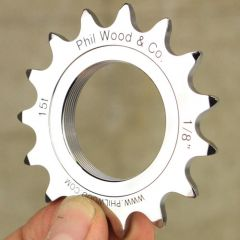 "*PHILWOOD* track cog (1/8"")"